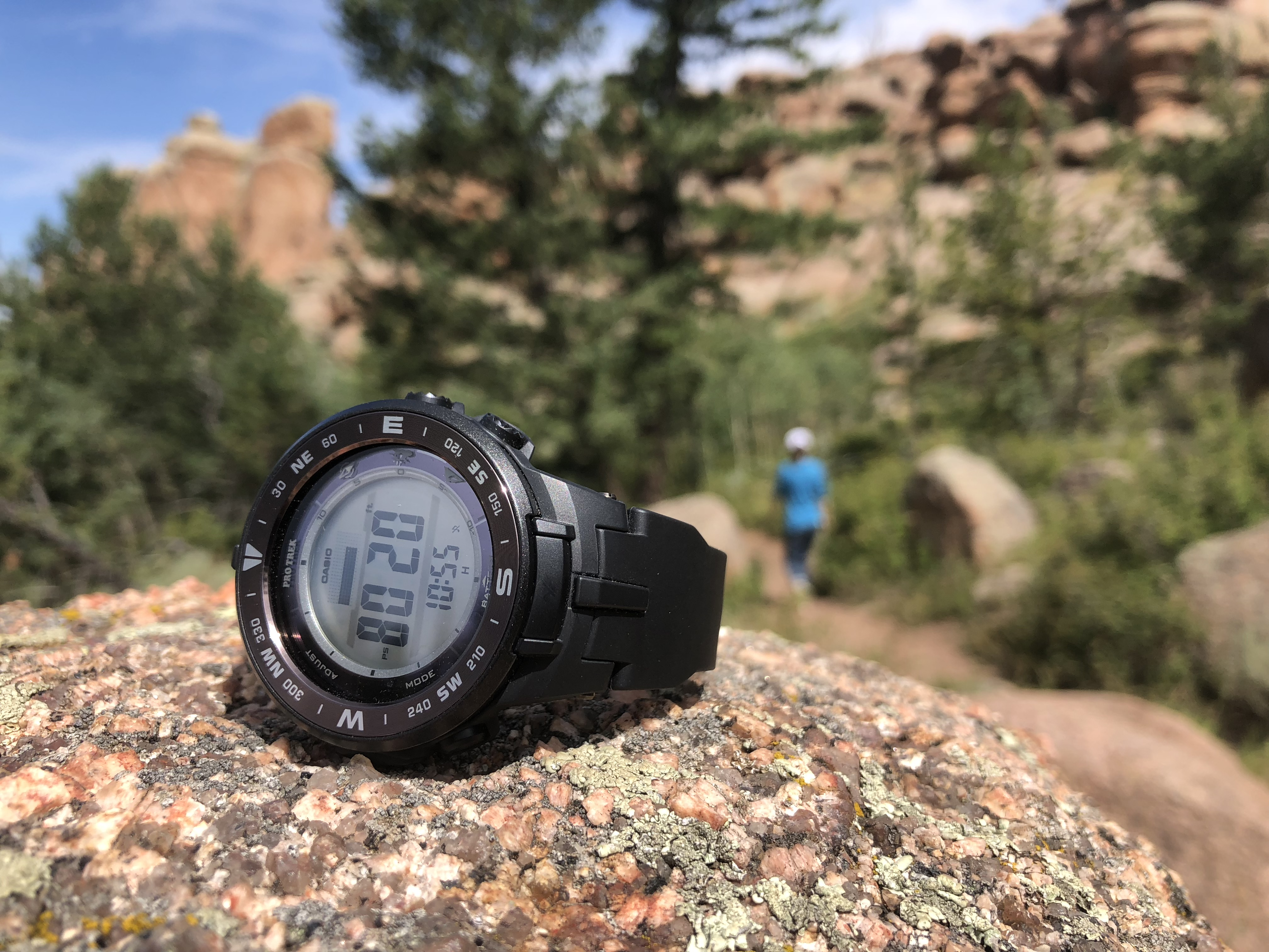 Exploring the Rocky Mountains with the Casio Pro Trek PRG
