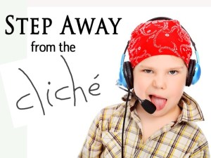 Image, child with headphones and microphone.