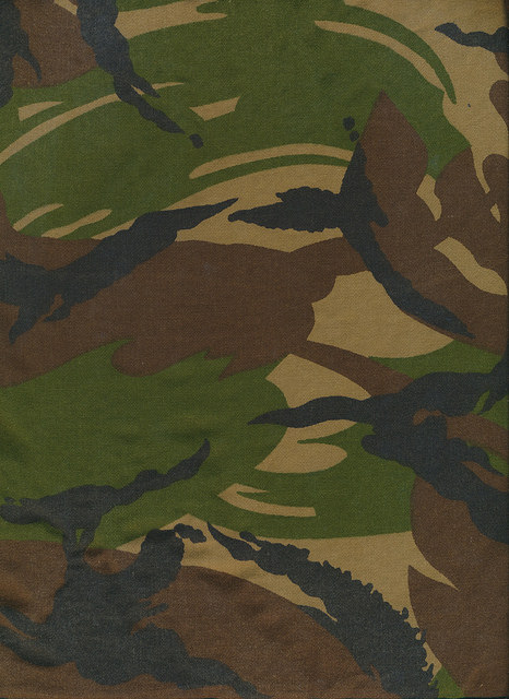Image, camouflage pattern.