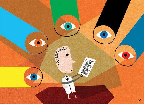 Peer review image