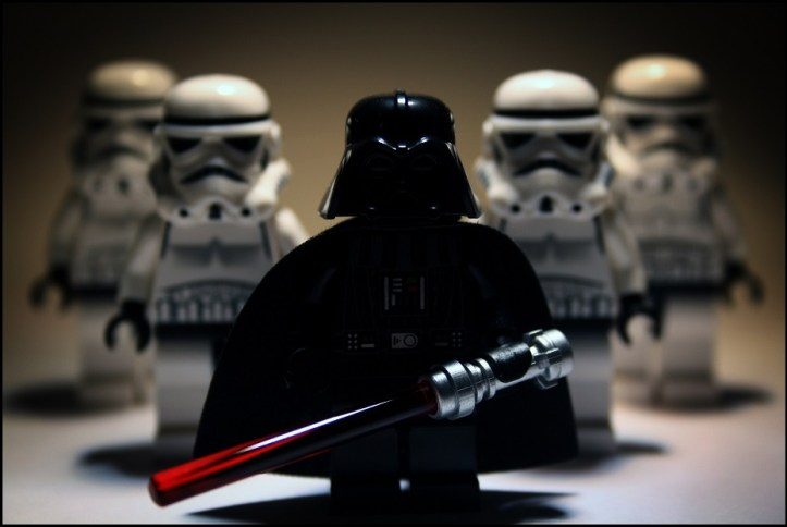 Image, Lego Darth Vader and Stormtroopers.