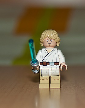 Image, Lego Luke Skywalker.