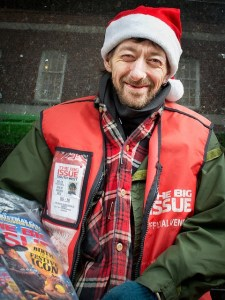 Image, A vendor for The Big Issue.