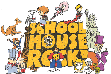 Image, Official logo of Schoolhouse Rock!