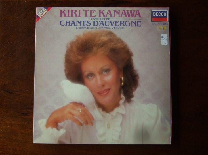 Image of Kiri Te Kanawa's album cover