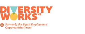 Image of logo, links to Diversity Works NZ website.