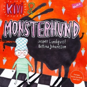 Image, Cover of Swedish children's book Kivi & Monsterhund.