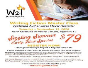 Write2Ignite Master Class Early Bird