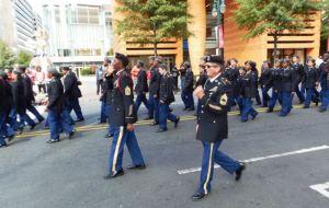 Veterans Day Parade JROTC