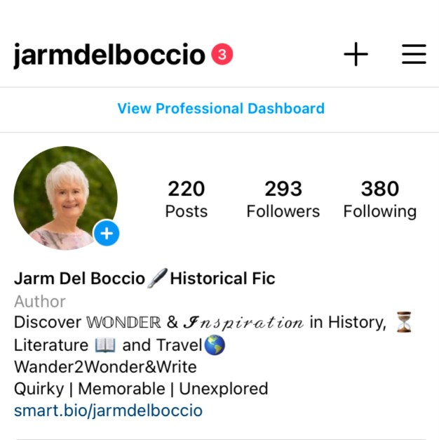 @jarmdelboccio instagram bio