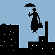 Mary Poppins arrives