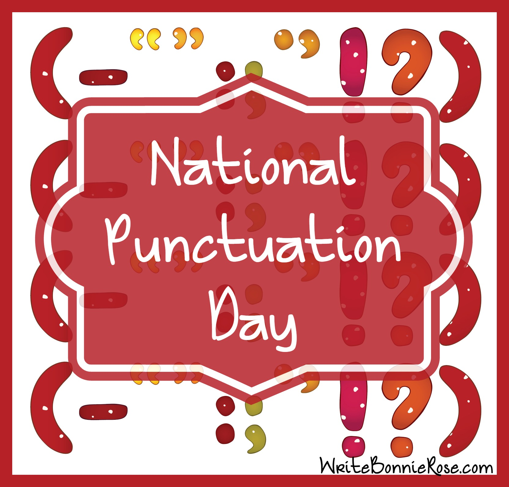 National Punctuation Day Punctuation Worksheet