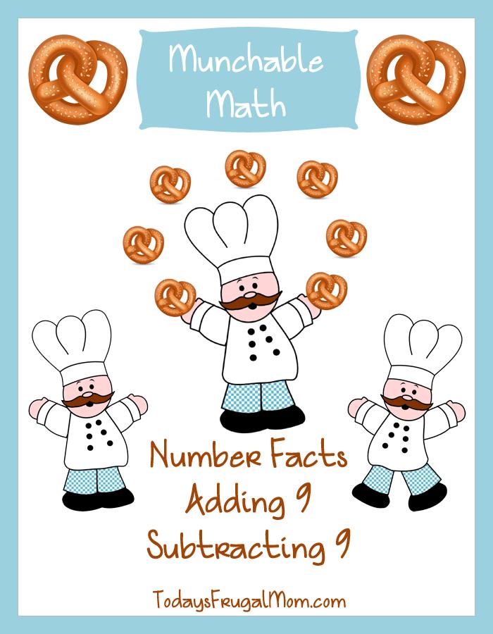 Free Elementary Math Worksheets Munchable Math Pretzels