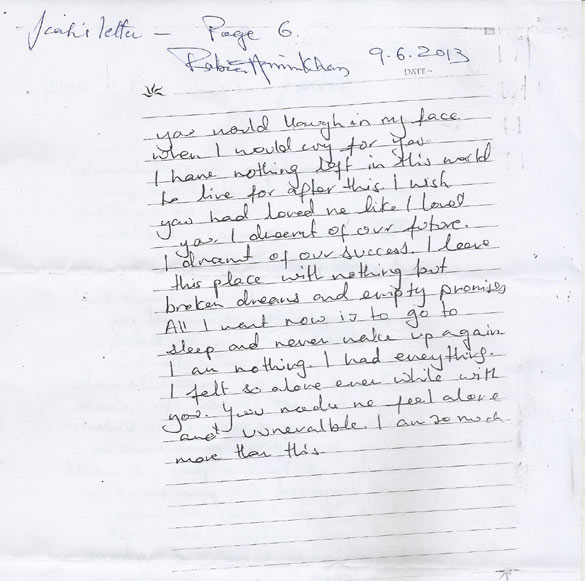 What Jiah Khan's handwriting says about her suicide & her