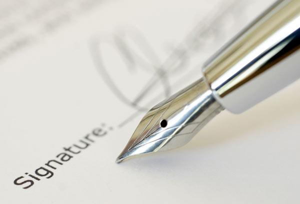Best signature for success