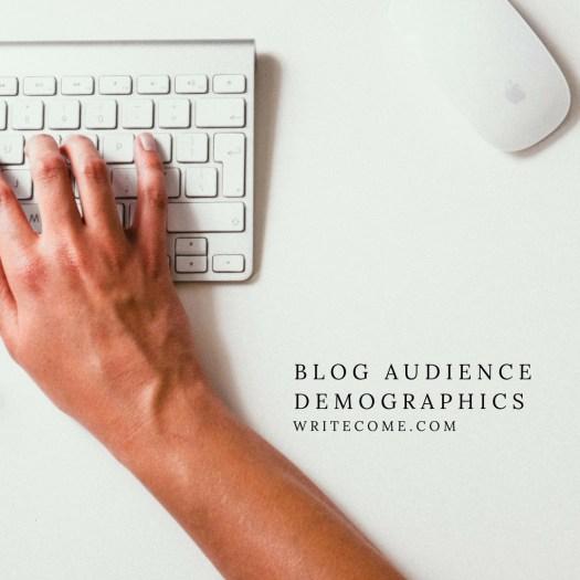 Blog Audience Demographics