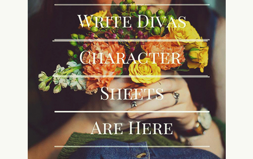 Write Divas Character Sheets Are Here!