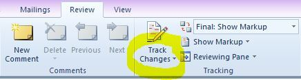 Track Changes Icon sml
