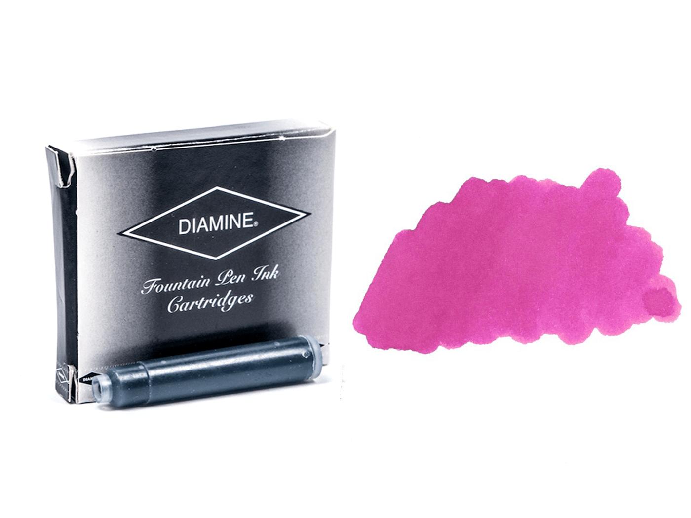 Diamine Ink Cartridge 6 Pack - Claret - Write GEAR