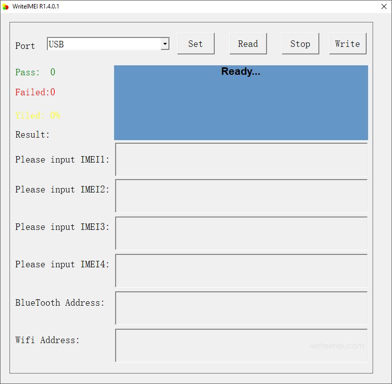 WriteIMEI Tool R1.4.0001