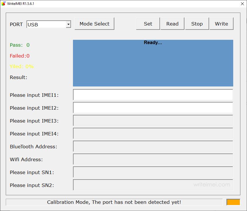 WriteIMEI Tool R1.5.6001