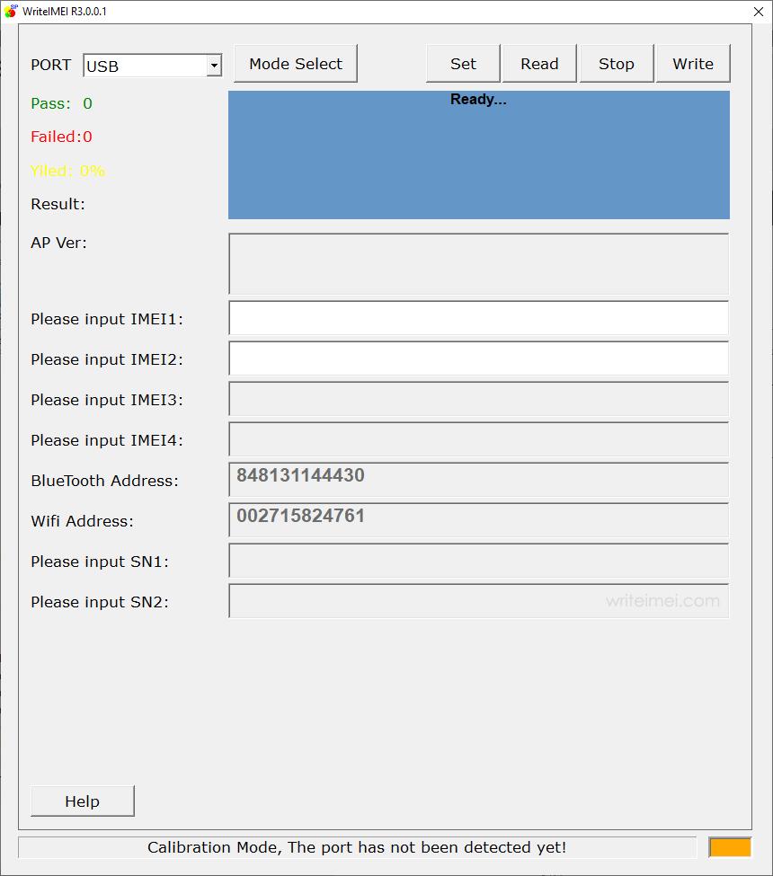 WriteIMEI Tool R3.0.0001