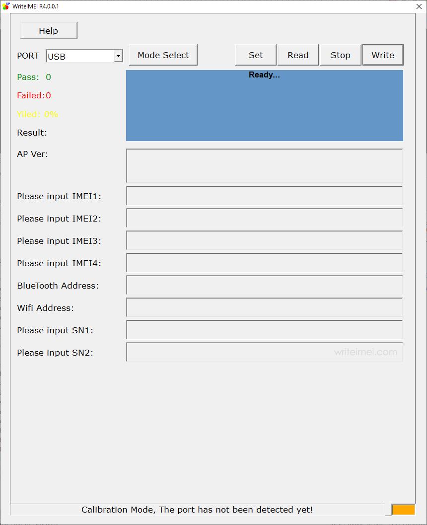 WriteIMEI Tool R4.0.0001
