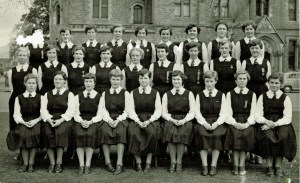 Class of 5S Christchurch Girls' High School 1954