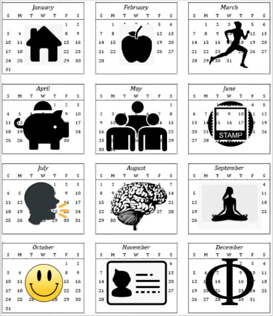 BW-calendar-icons