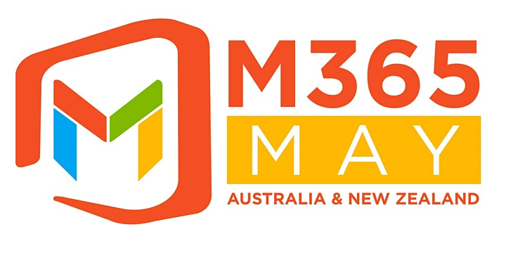 Logo for M365MAY Australia & New Zealand