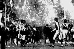 Victoria Park on fire; Coll v Ess 1972