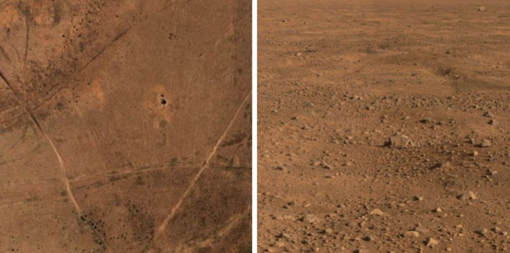Scientists have discovered water on Mars but not in west Thommo