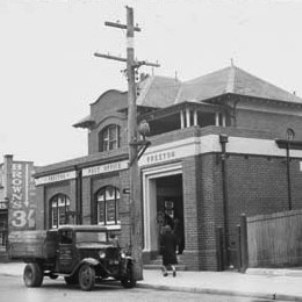 Preston Post Office, 1944