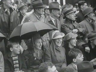 Rain hail or shine, 1940