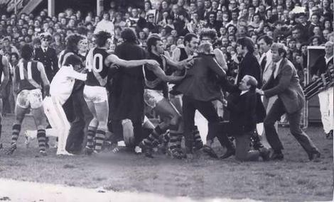 Windy Hill brawl, 1974