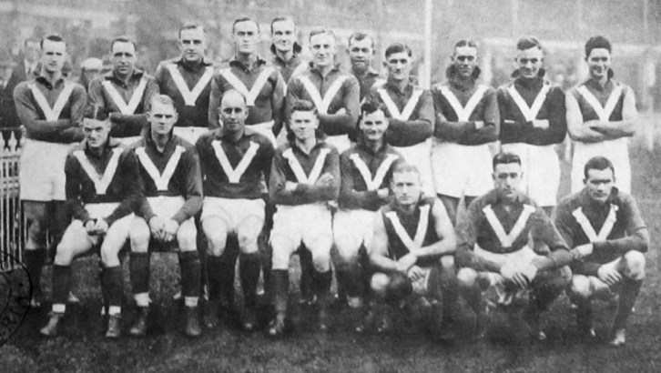 The VFL team which played the VFA in 1931