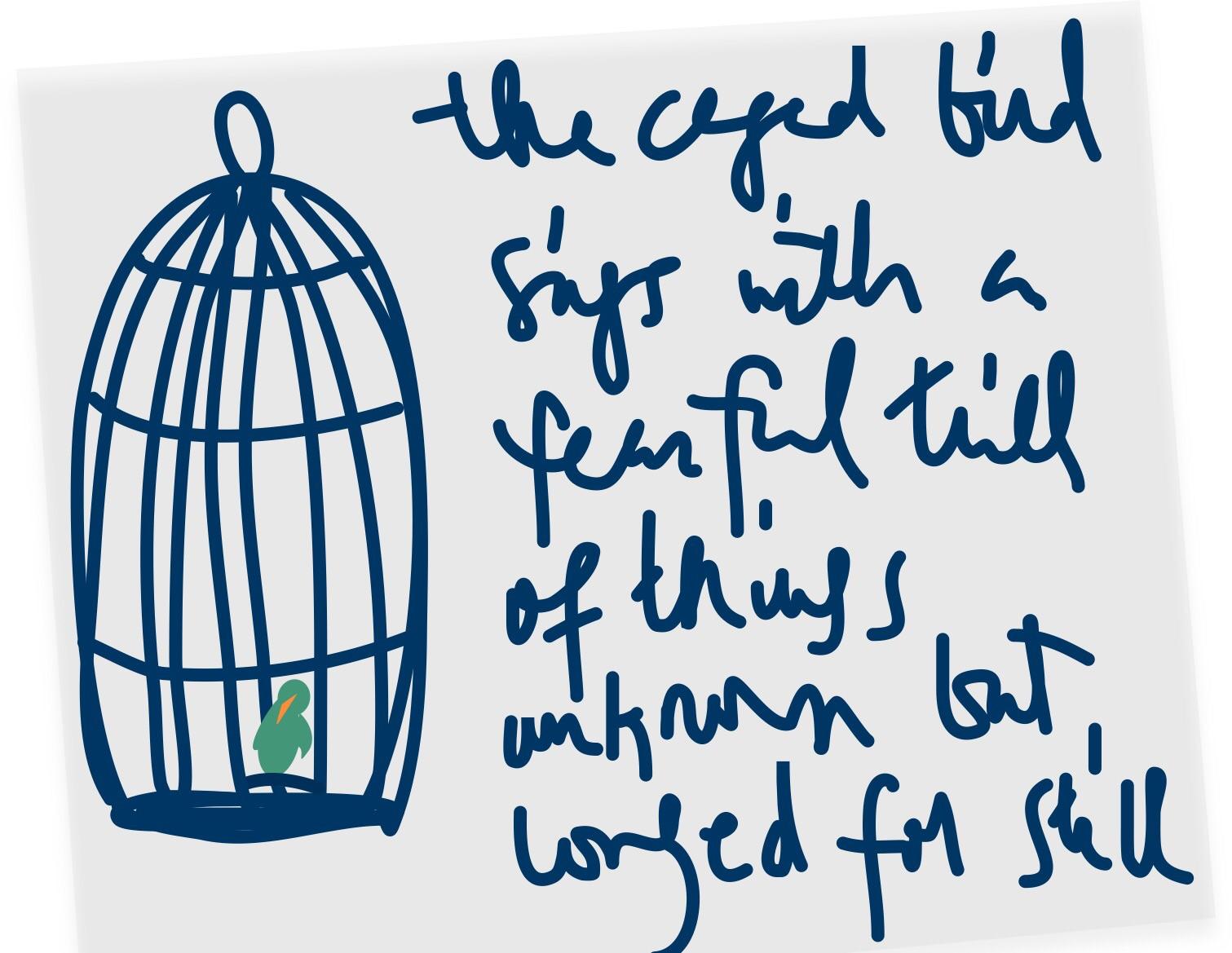 Essay On Caged Bird By Maya Angelou