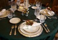 formal table settings  Shirley Buxton