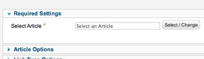 joomla-select-menu-article