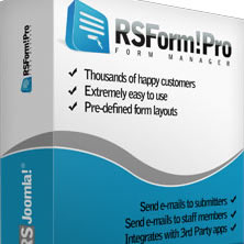 RSFormPro Form Build for Joomla