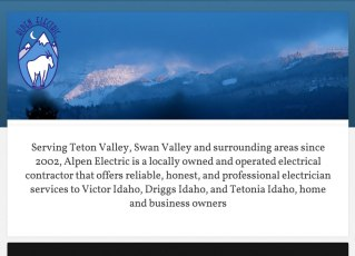 Alpen Electric Site with WordPress and Genesis