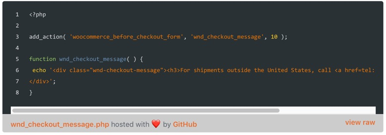 Github Gists Custom Syntax Highlighting