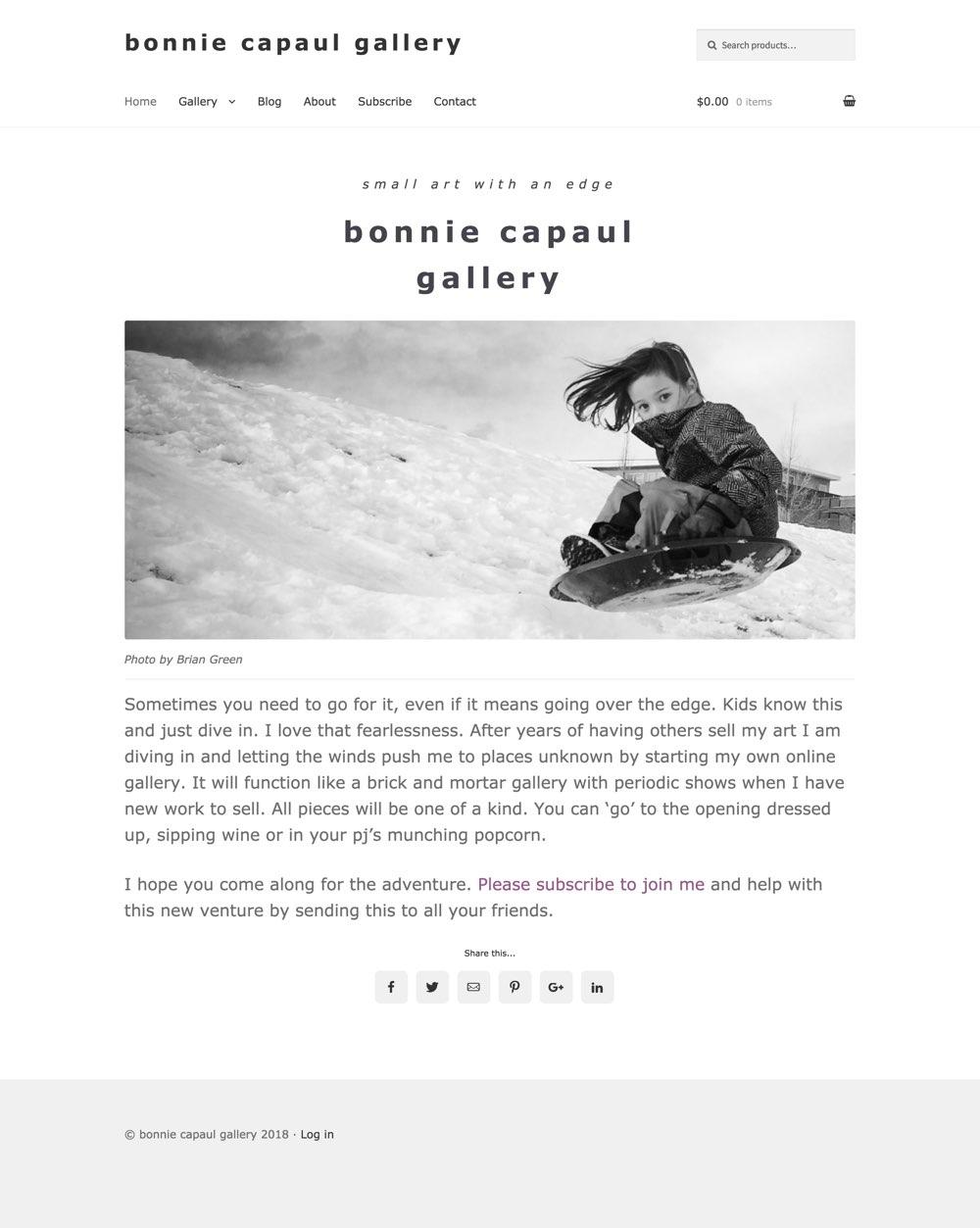 Bonnie Capaul Gallery