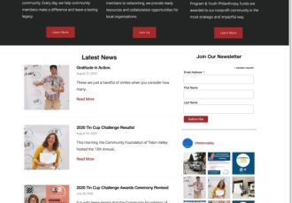 WordPress site and theme upgrade
