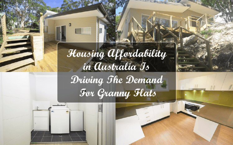 Housing Affordability in Australia Is Driving The Demand For Granny Flats