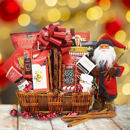 Christmas Gift Ideas for Friends-Gift Basket