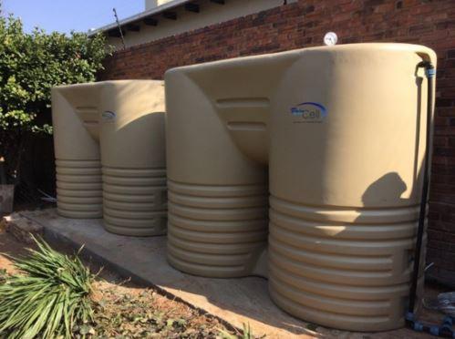 residential water tank