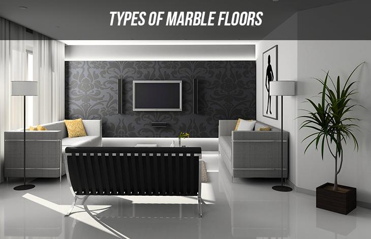 Types of Marble Floors