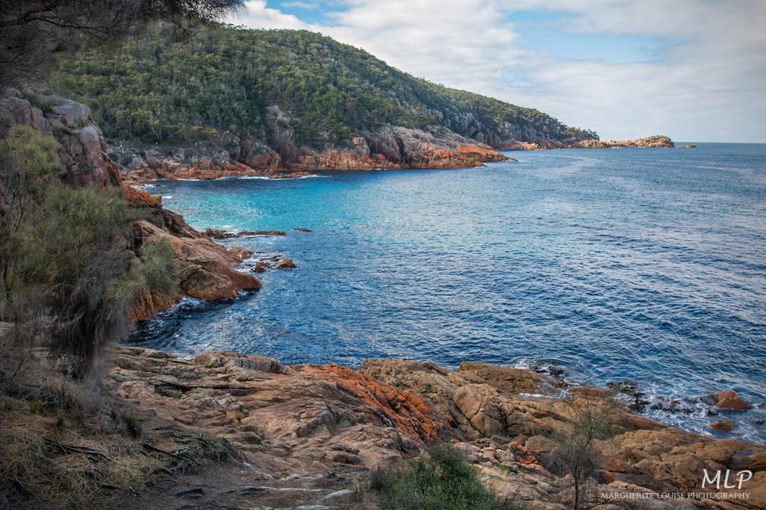 sleepy bay, freycinet national park, tasmania