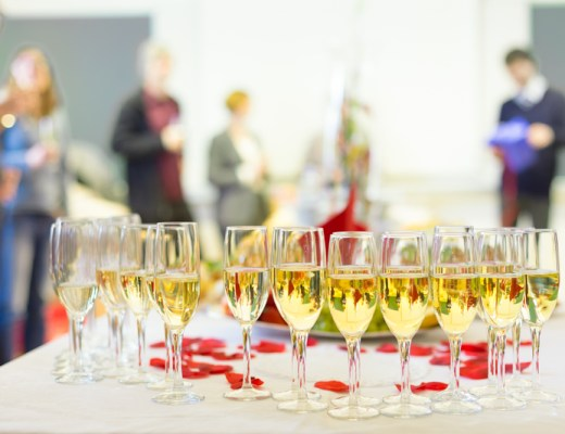 networking event, event, networking, champagne